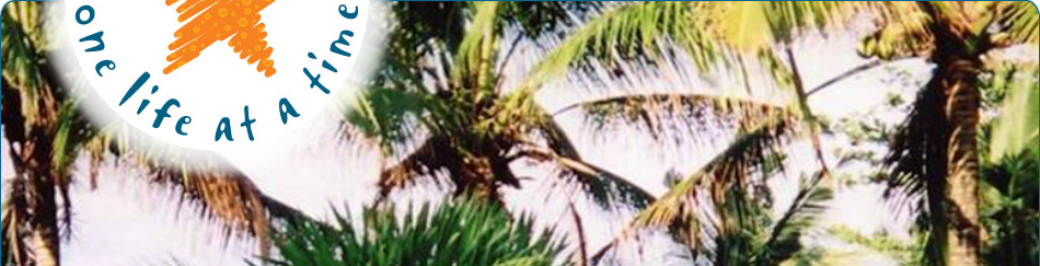 Starfish Christian Trust: Coconut trees in the Philippines