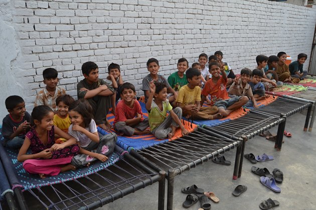 Photo: Two Beds Supplied for Orphans in Pakistan