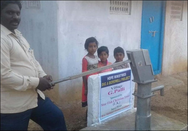 Photo: New Bore Wells bring Salvation