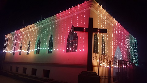 Photo: The Most Beautiful Church this Christmas (Dec 13)